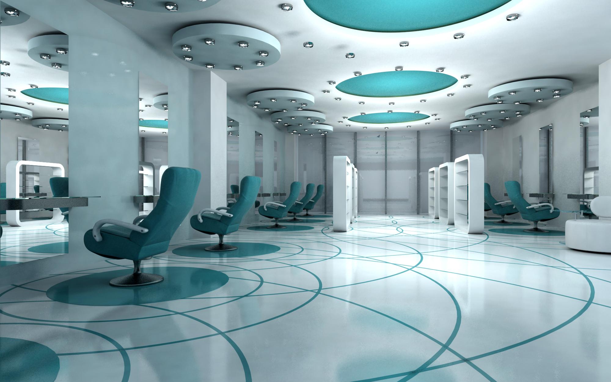 Basatta saloon premium saloon and spa for Saloon interior designs